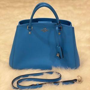 Coach handbag with crossbody strap